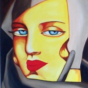 Óleo s/lienzo 100 x 81